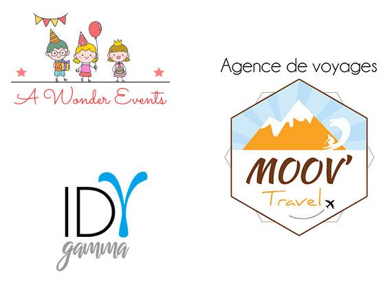 Logos pour particuliers et entreprises